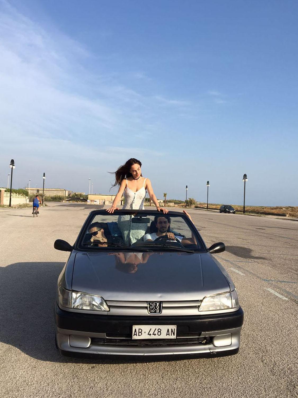 Denise Capezza protagonista nel videoclip di Luchè Che Dio mi benedica con Michele Rosiello