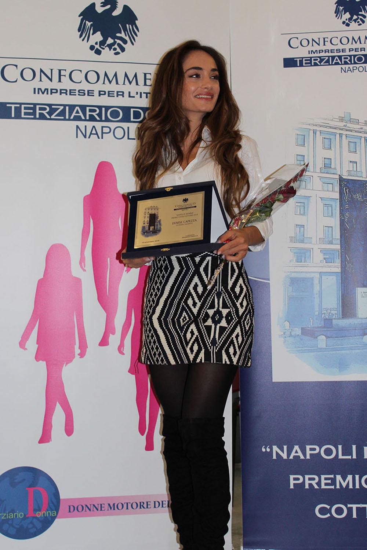 Denise Capezza Premio Lydia Cottone Napoli è Donna