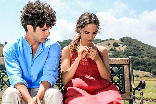 Denise Capezza e Giovanni Anzaldo set UNO regia Gianluca Ariemma