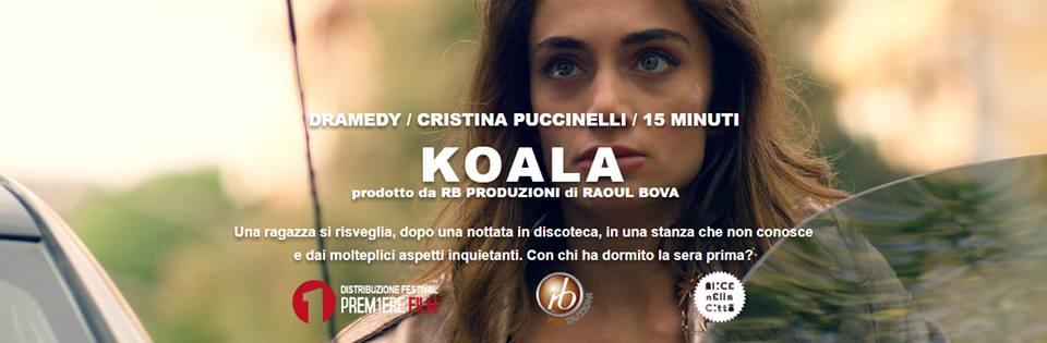 Koala Anteprima Koala Preview Denise Capezza sul set di Koala regia di Cristina Puccinelli