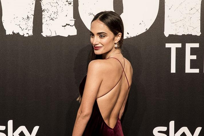 Gomorra 3 anteprima Gomorrah 3 preview Denise Capezza attrice Marinella sfila sul red carpet premiere la serie vestito