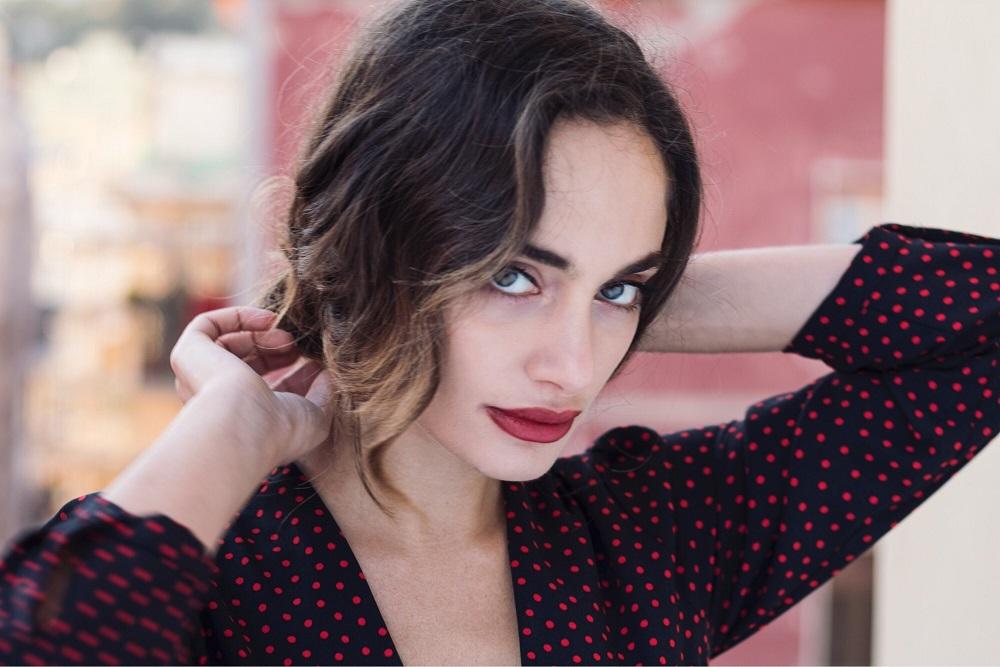 once upon a time Denise Capezza Attrice Gomorra Marinella Vestito Foto San Valentino Stories