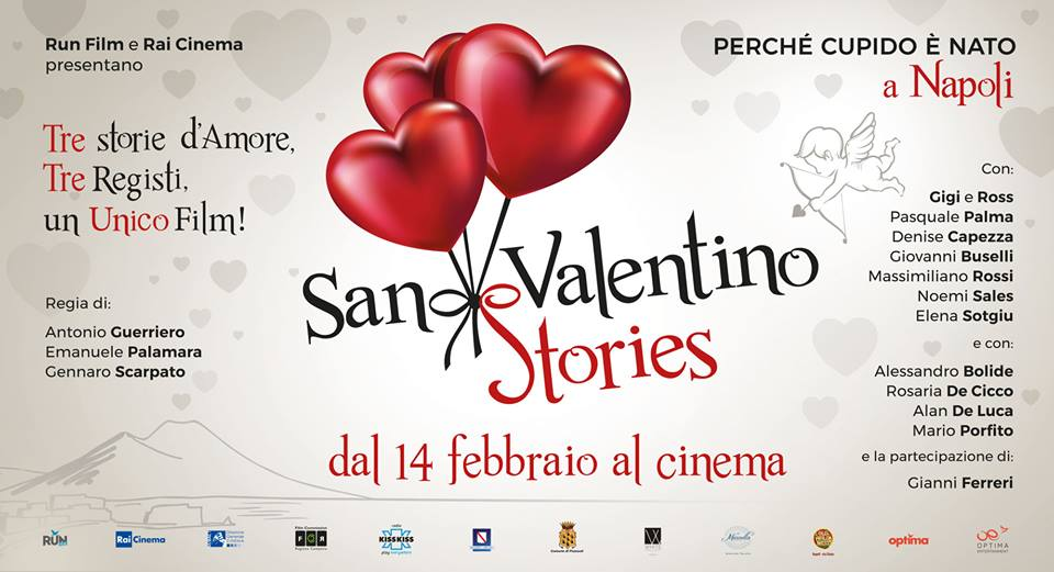 San Valentino Stories Denise Capezza attrice cinema film Alessandro Siani