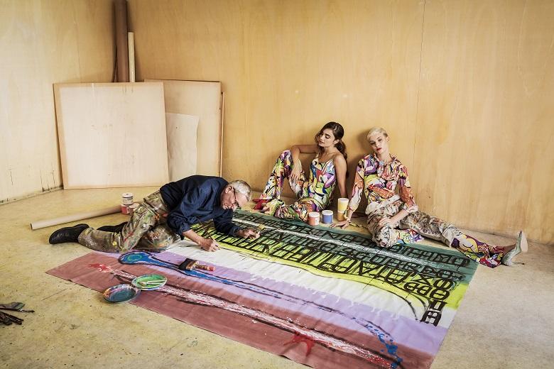 foto di Andrea Varani photographs by Andrea Varani Denise Capezza attrice vestito atelier Pablo Echaurren