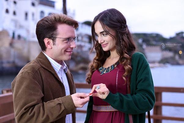San Valentino Stories Denise Capezza attrice cinema film Alessandro Siani con Pasquale Palma