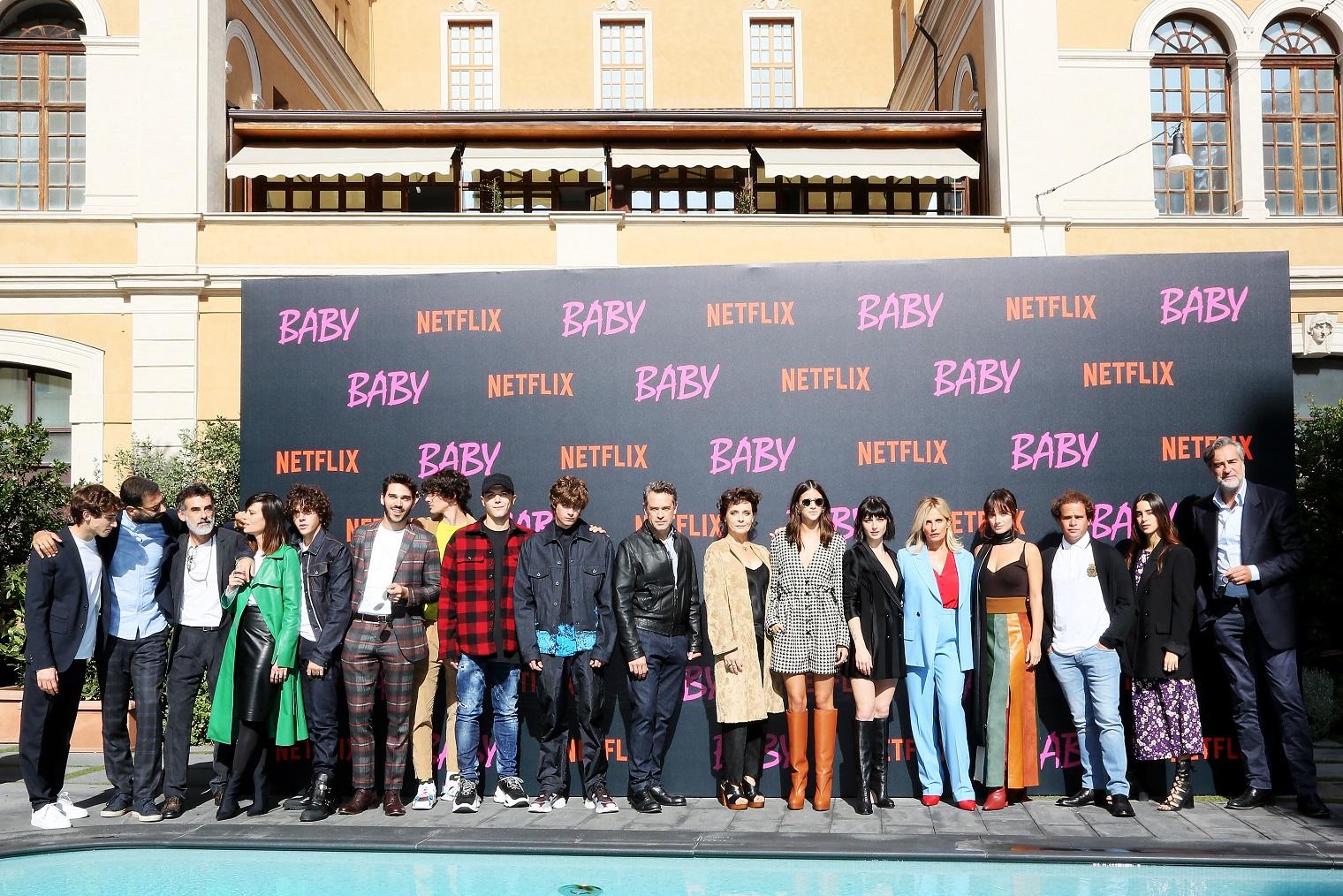 BABY 2 Premiere Denise Capezza attrice netflix natalia getty images red carpet presentazione cast