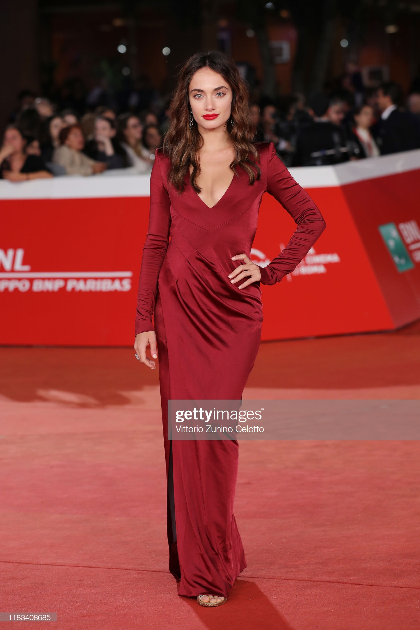 Denise Capezza Festa del Cinema di Roma 2019 attrice red carpet documentario negramaro