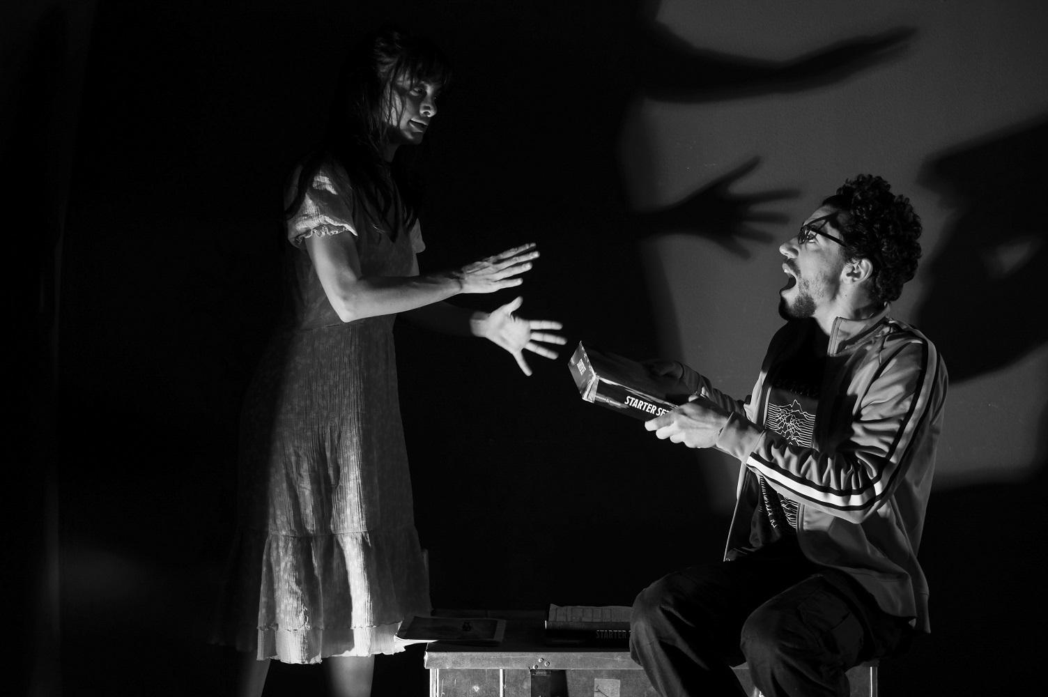 After The End di Dennis Kelly Con Denise Capezza e Eduardo Scarpetta Regia di Francesco Saponaro Teatro Sannazaro di Napoli